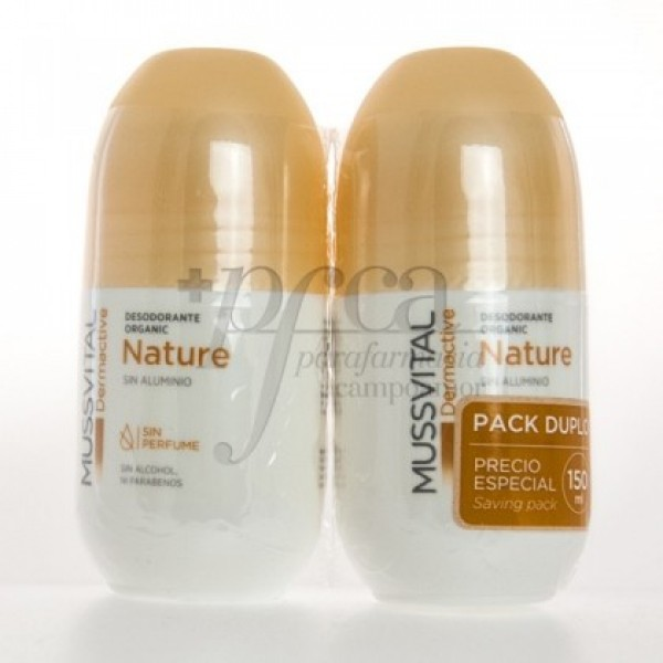 MUSSVITAL NATURE DEO ROLL-ON 2X 75ML PROMO