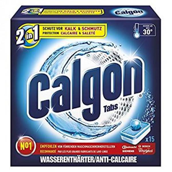 Calgon antical pack 15 pastillas