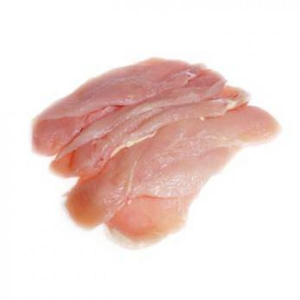 Pechuga fileteada de pollo producción ecológica cat a (vacío 0,4 kg. aprox.) .