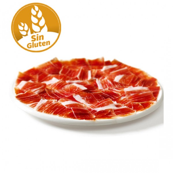 Jamón serrano producción ecológica sin gluten y sin lactosa (vacío 100 gr. aprox.)