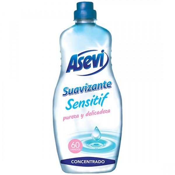 Asevi suavizante concentrado sensitif 60 lavados