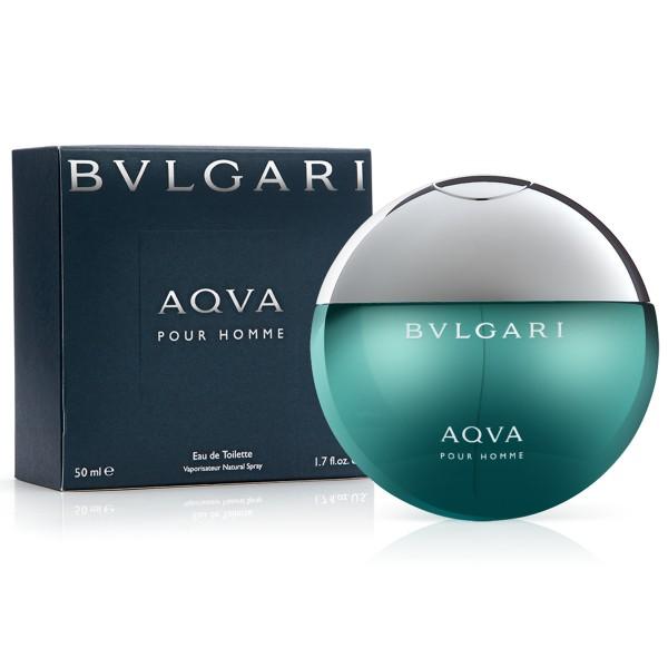 Bvlgari aqva eau de toilette pour homme 50ml
