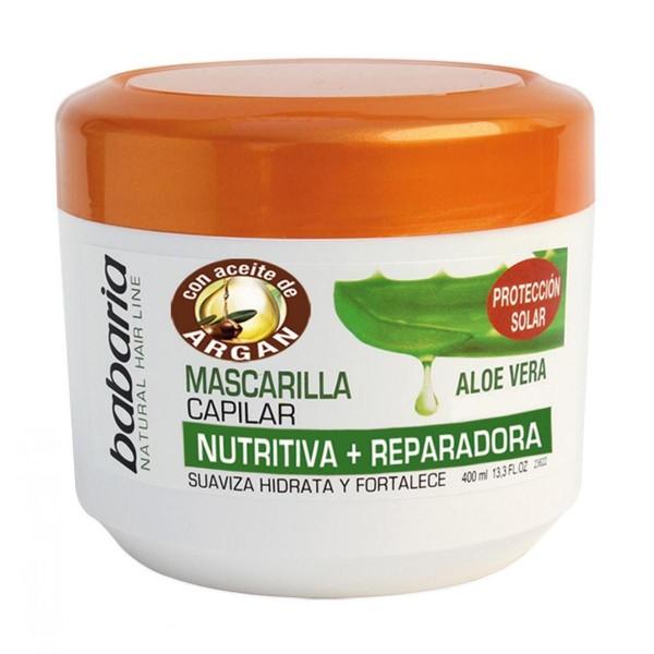 Babaria aloe vera mascarilla capilar con aceite de argan 400ml