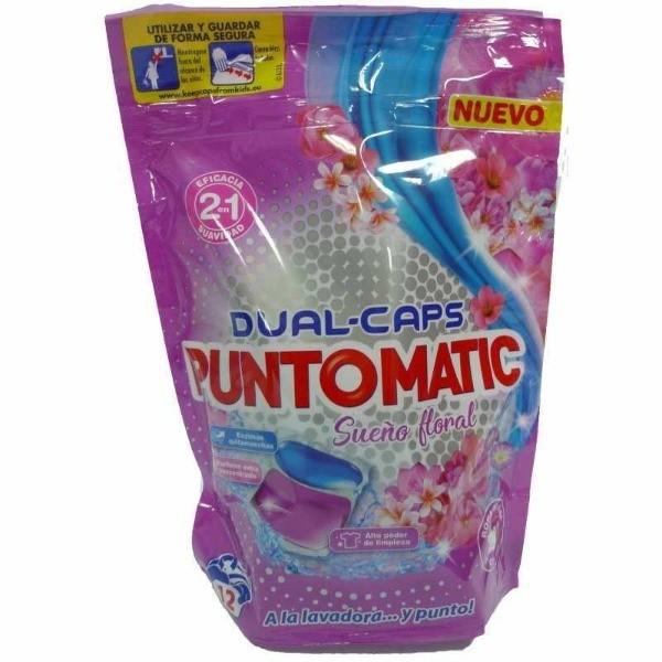 PuntoMatic  detergente en cápsulas  Sueño Floral 12 u