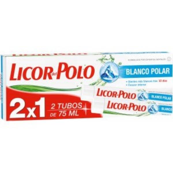 Licor del Polo Blanco Polar, 75 ml ,  2x1