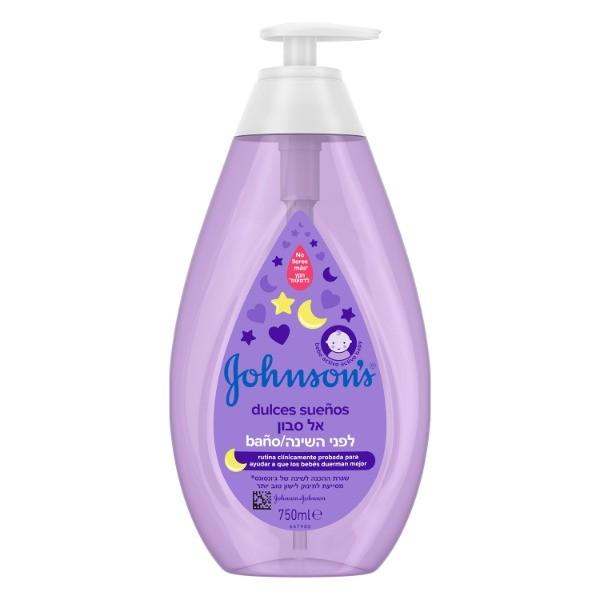 Johnsons Baby Champú Dulces Sueños dosificador  750 ml
