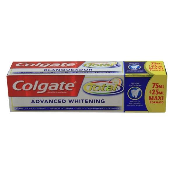 Colgate Dentífrico advancedl Whitening 75+25 ml