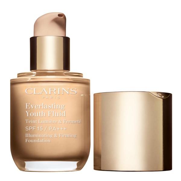 Clarins everlasting youth fluid spf15 108 sand