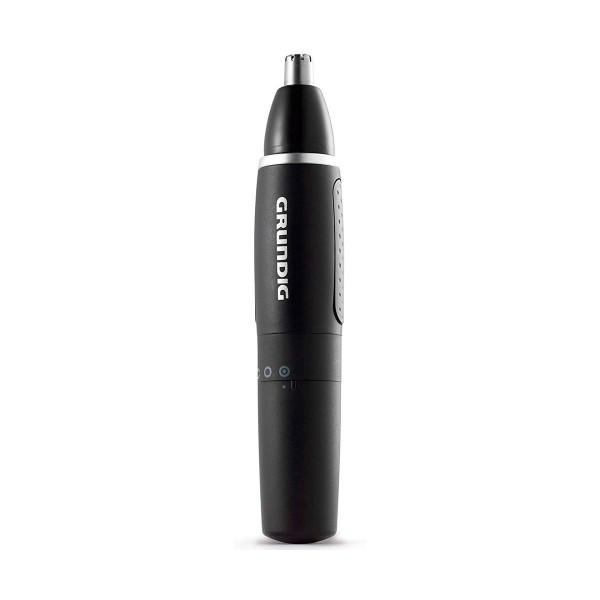 Grundig mt 3810 negro plata depiladora de precisión nasal con batería aa