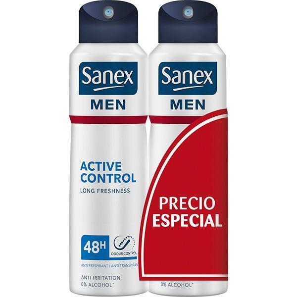 Sanex men active control 48h spray 200 ml + 200 ml